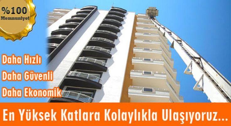 Antalya' da Asansörlü Taşımacılık - Antalya Nakliyat