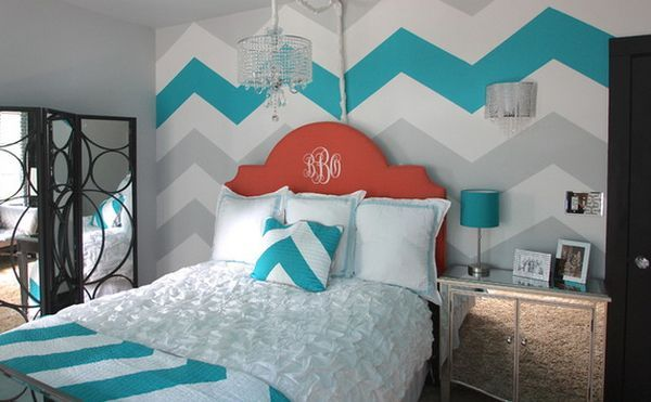 Cool Painting Ideas That Turn Walls And Ceilings Into A Statement. Pull colors together to make a bold statement and a very unified look.