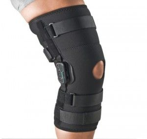 Knee Brace for Meniscus Tear...... Ya just what i get to wear for 4 to 6 weeks or more........