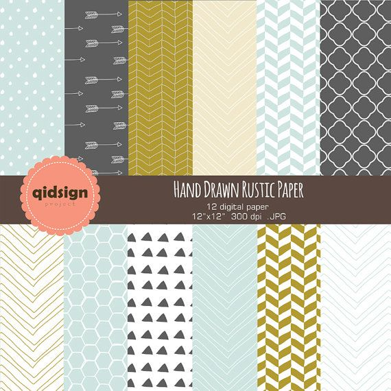 Hey, I found this really awesome Etsy listing at https://www.etsy.com/listing/199686532/hand-drawn-rustic-digital-paper-chevron