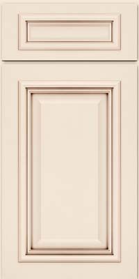 Scarbourough square aa8m4 maple in dove white w cocoa for Dove white cabinets with cocoa glaze
