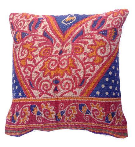Basha Carnival Kantha Cushion