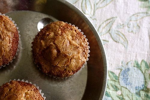 This is the bran muffin recipe I've been looking for - bran cereal, buttermilk, and can sit in the fridge and bake a few fresh each day. So, so good, so easy, so flexible. This is my kind of recipe!