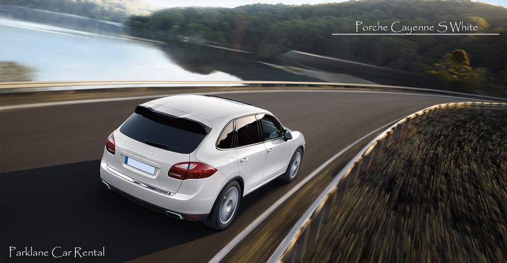 PORSCHE CAYENNE S WHITE  Drive the best cars in the world   Rent it from Parklane Car Rental  Visit www.parklanecarrental.com