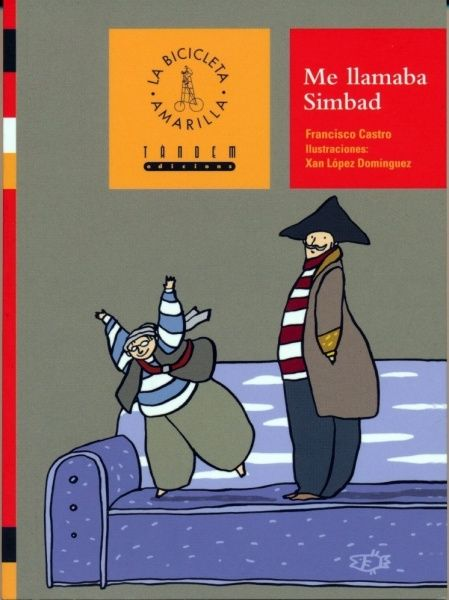 """""""Me llamaba Simbad"""" - Francisco Castro (Tàndem Edicions)"""