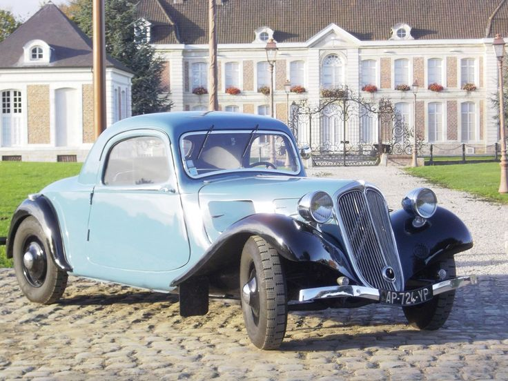 Citroën Traction-Avant - coupé 1934
