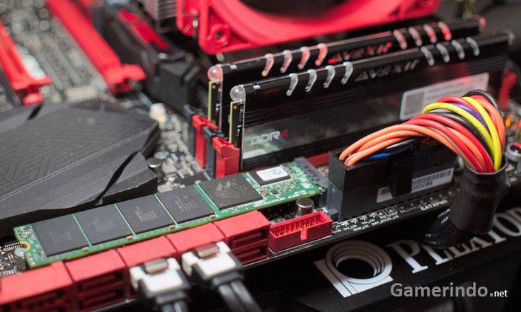 Plextor M7e PCIe M2 SSD CES Kecepatan 1400 Mbps