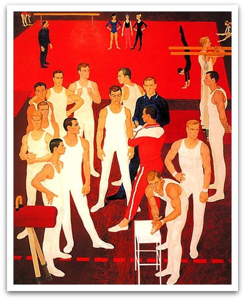 Dmitry Zhilinsky. USSR gymnasts/1964