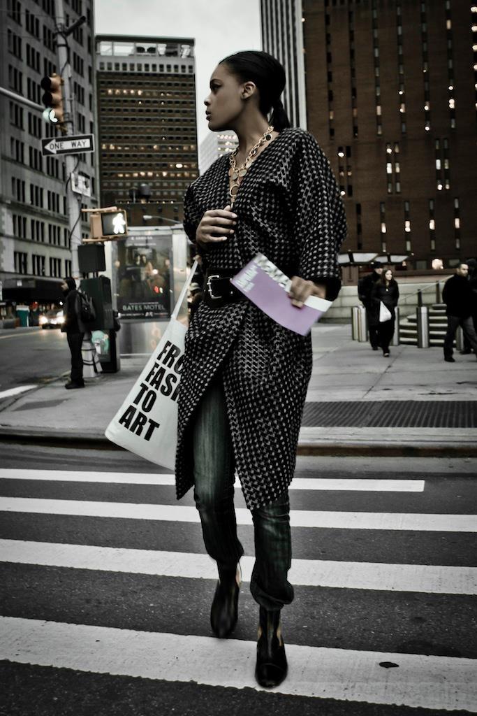 Sesja edytorialowa w NYC kolekcji MYS by Joanna Hawrot