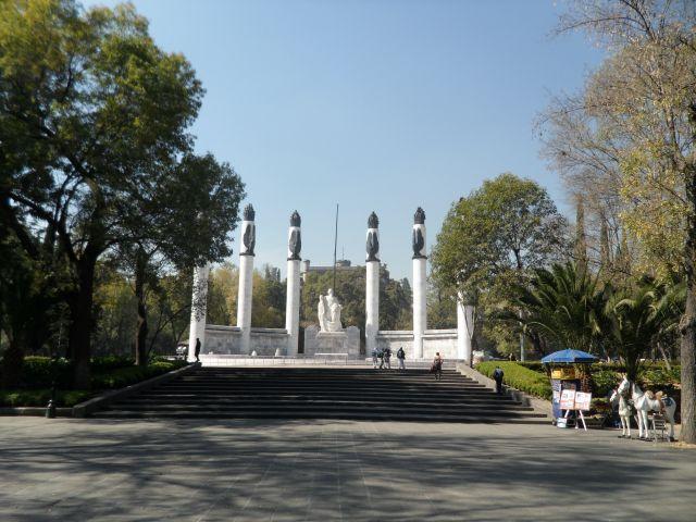 Monumento a los Niños Héroes de Chapultepec.