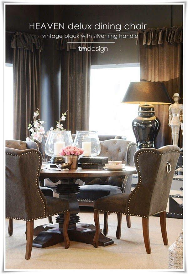 TM Design AS - Direkteimport av møbler: Spisestuestoler