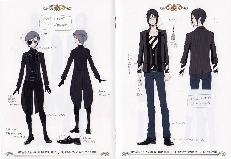 "Ciel Phantomive + Sebastian Michaelis - OVA ""Modern Clothes"" Making of Kuroshitsuji"