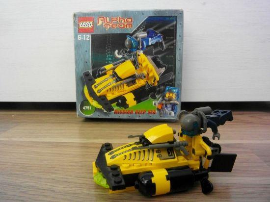 LEGO Alpha Team Sub-Surface Scooter 2002