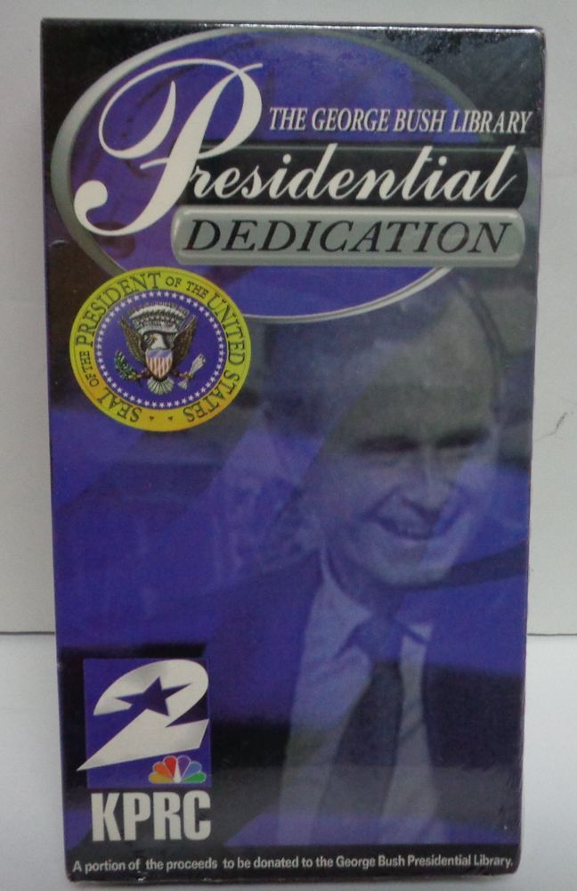 George Bush Presidential Libraries Unopened Sealed
