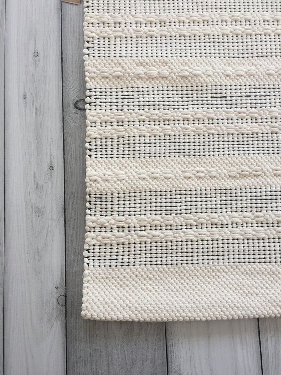 Black And White Scandinavian Rugs Cotton Kitchen Rug Runner