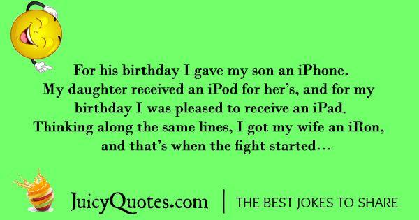 Funny Birthday Joke - 5