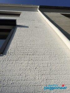 Diese Gestaltung schützt die Fassade komplett! Der Nachteil: sie ist nicht atmungsaktiv - Maler Bremen