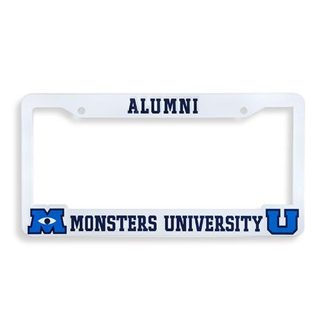 License Plate Frame | Store | Monsters University. 19.50! So cool!