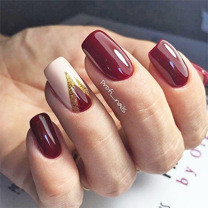 30 Newest Burgundy Nails Designs You Should Definitely Try in 2017 - The 25+ Best Burgundy Nail Designs Ideas On Pinterest Acrylic
