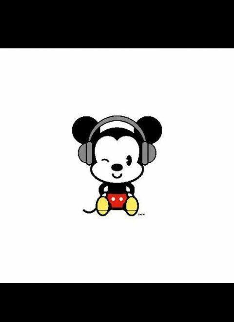 Image via We Heart It #cute #disney #mickey #music