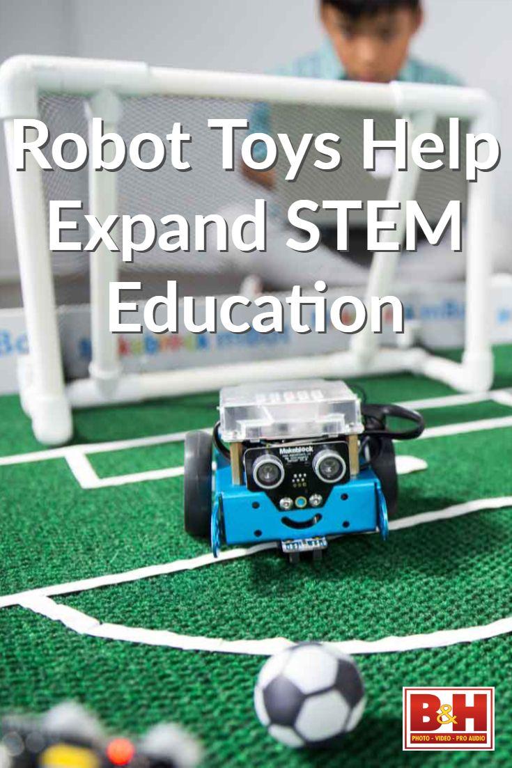 Robot Toys Help Expand STEM Education