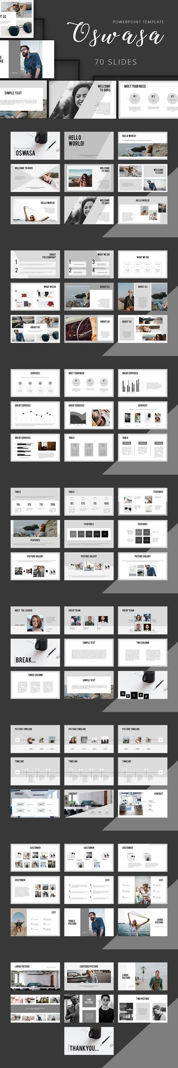 OSWASA Powerpoint Template. Presentation Templates