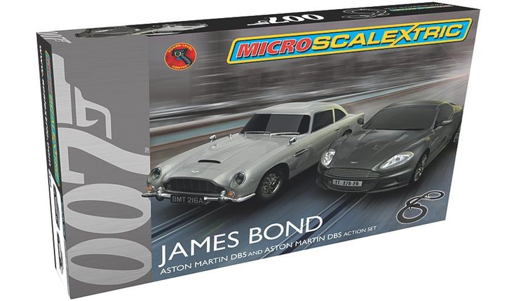 Micro Scalextric James Bond, read reviews and buy online at George at ASDA. Shop from our latest range in Kids. Micro Scalextric is ideal for the younger slot r...