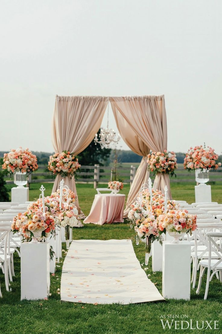 Elegant Equestrian Inspired Wedding From Our Cur Issue This Peach Themepeach