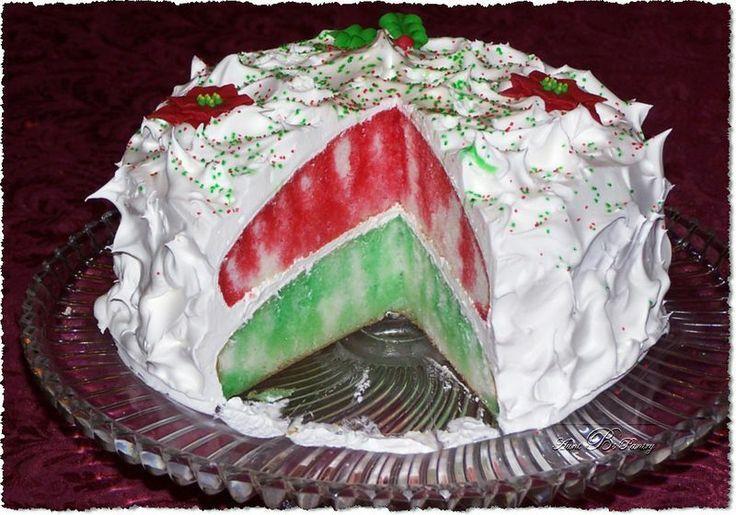 Jello Cake Recipe Kraft: Holiday Jell-O Poke Cake Recipe