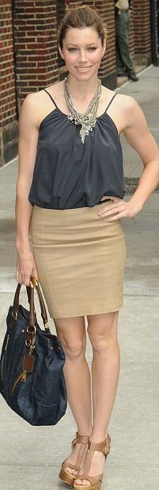Waaaay back when this was a khaki skirt and not camel.  Lace Skirt #2dayslook #LaceSkirt #kelly751  #sasssjane  www.2dayslook.com