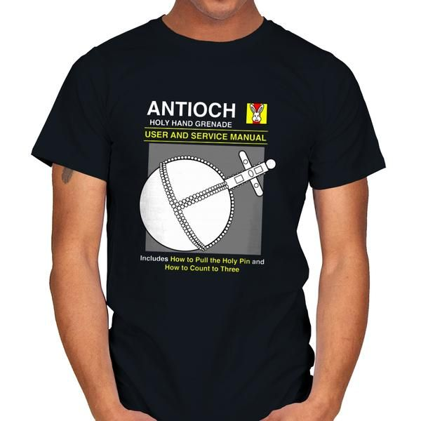 1 2 5 Monty Python Holy Hand Grenade T Shirt The Shirt List T Shirt Shirts Mens Tops