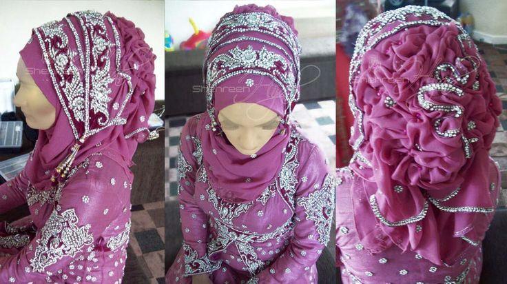 wedding hijabs