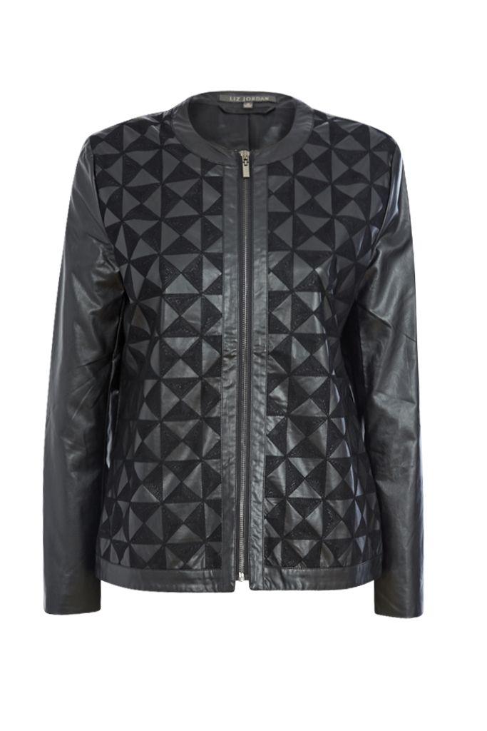 Noni B   Franny Pleather Jacket