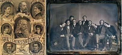 Hutchinson Family, 1845.  The town of Hutchinson was founded in McLeod County by the Hutchinson Family Singers on November 19, 1855. The Singers, a four-part harmony singing group from New Hampshire, were some of the most popular American entertainers of the 1840s.   Rep. Peterson's Newsletter 11/21/2014 | Congressman Collin Peterson