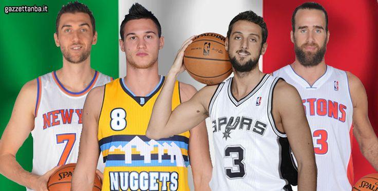 Le star azzurre della NBA 2013-2014