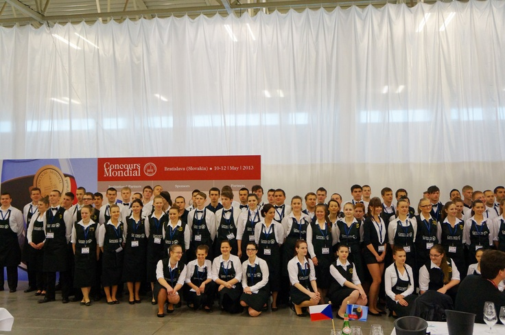 A very big and talented team of young sommeliers was there to help us.
