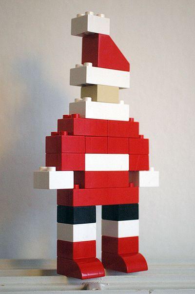 Ho ho ho... #DUPLO Santa is coming to town! (great work Annabelle Nielsen!) #LEGO #KeepBuilding