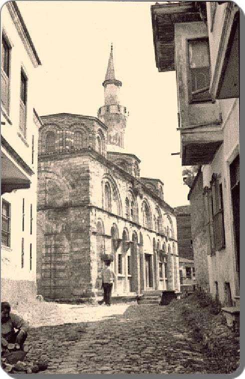 Vefa; Molla Gürani Camii, Kilise Camii
