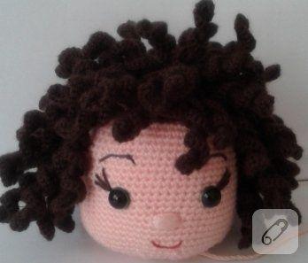 Amigurumi bebeklere kıvırcık saç nasıl yapılır? - 10marifet.org