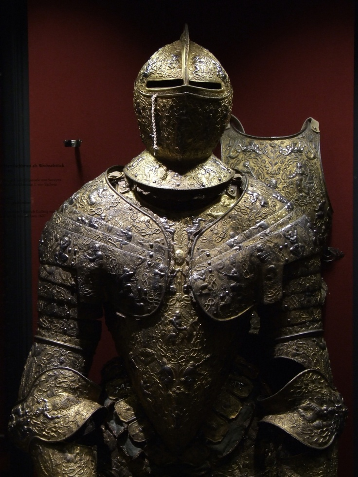 French Plate Armor 16th Century Rstkammer Dresden Armour Armors