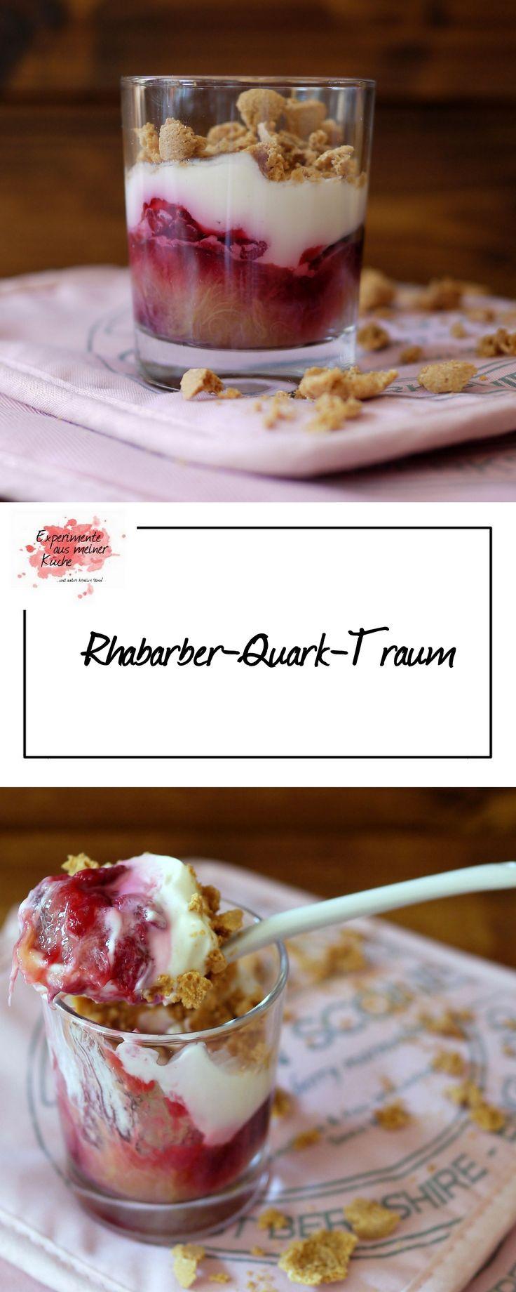 Experimente aus meiner Küche: Rhabarber-Quark-Traum