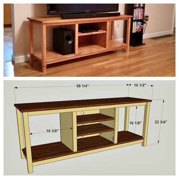 From Plan To Project! Brandon Says His New TV Stand Is