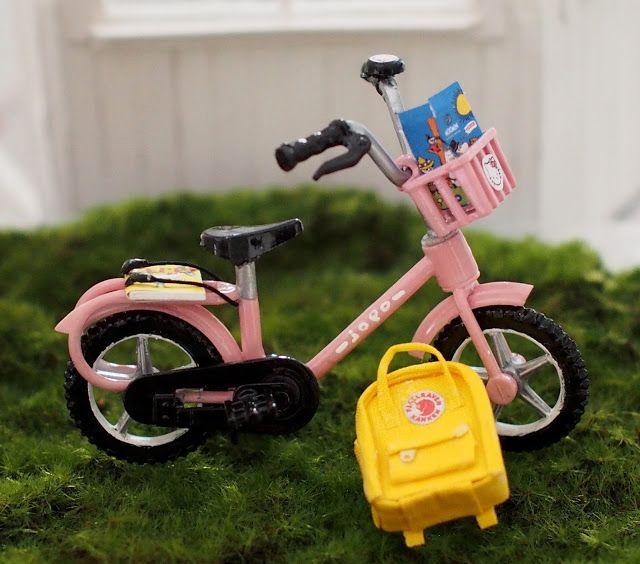 Nukkekoti Casablanca: Mini Jopo - Mini Jopo Bike
