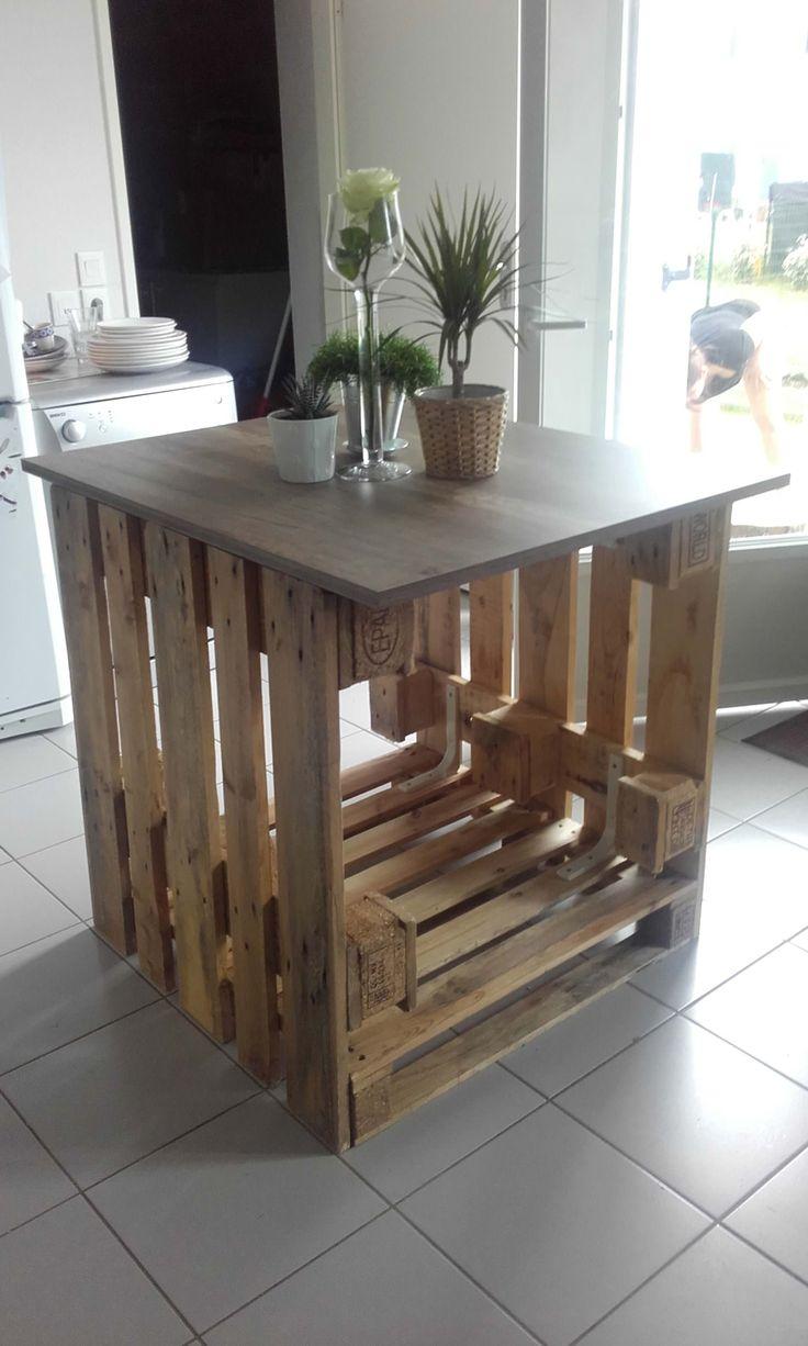 Best 25 build kitchen island ideas on pinterest build for Cuisine ilot central