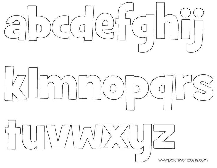 Tactueux image with regard to free printable alphabet templates for applique