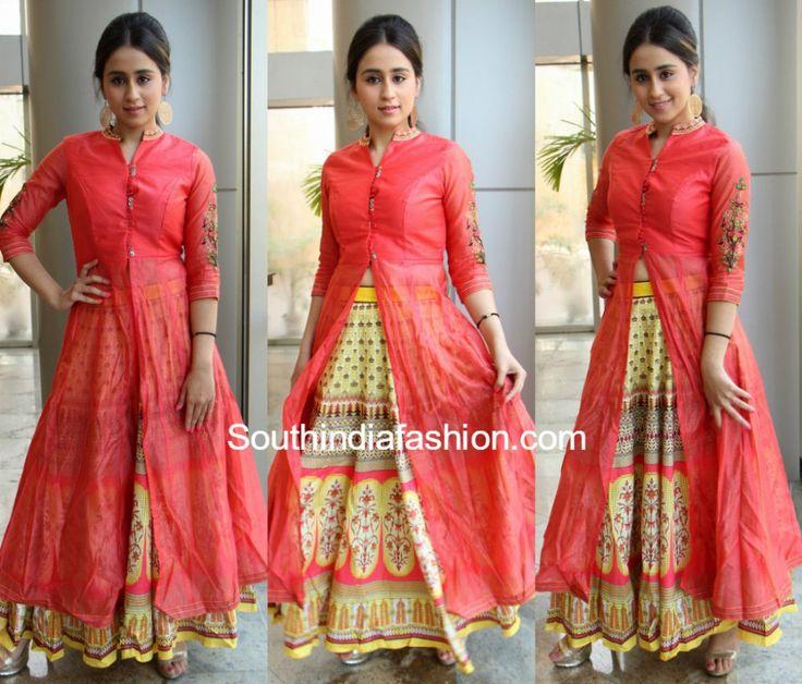 Simrath Juneja in Indo-Western suit