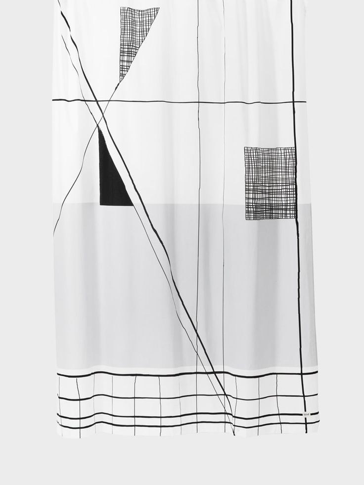 Trace Shower Curtain by ferm LIVING - FAST DELIVERY