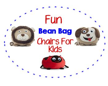 5 fun bean bag chairs for kids - Childrens Bean Bag Chairs