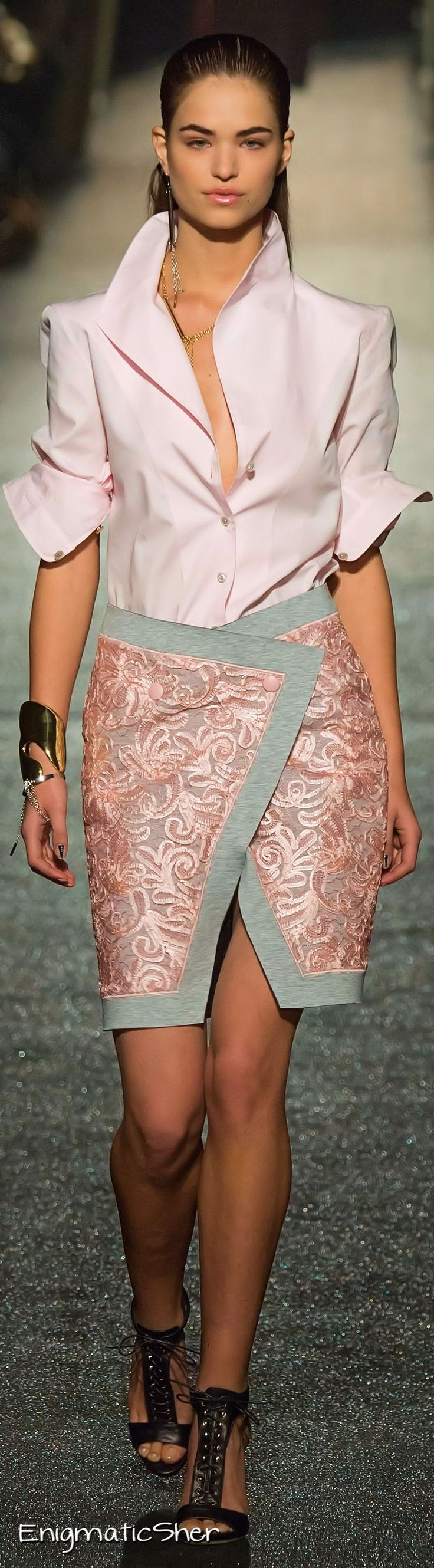 Alexis Mabille Collections Fall Winter 2015-16 https://www.pinterest.com/hollara17/rosa-color-dulce-2015/