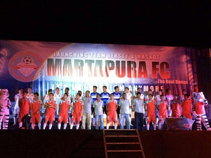 Launching Team #MartapuraFC Divisi Utama 2014 Liga Indonesia.